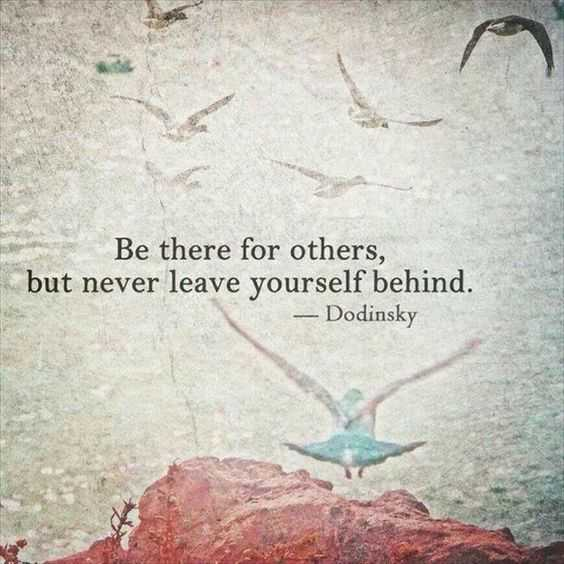 Beautiful Quote About Life - be there