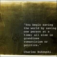 Wonderful Quotes - saving one person