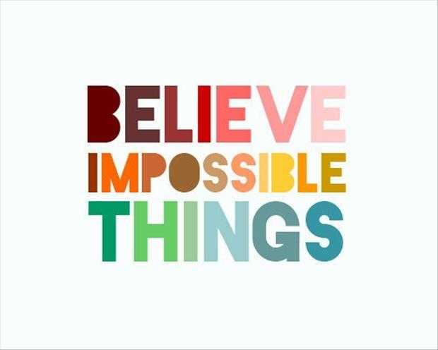 Motivational Quotes - believe