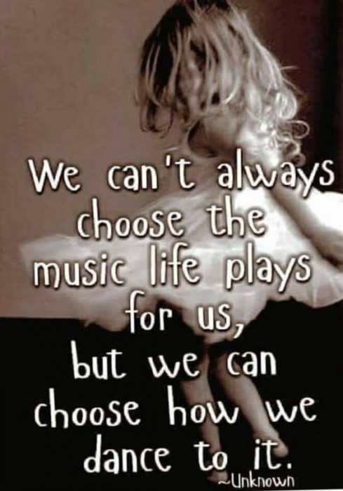 Inspiring and Motivational Quotes - choose how you dance