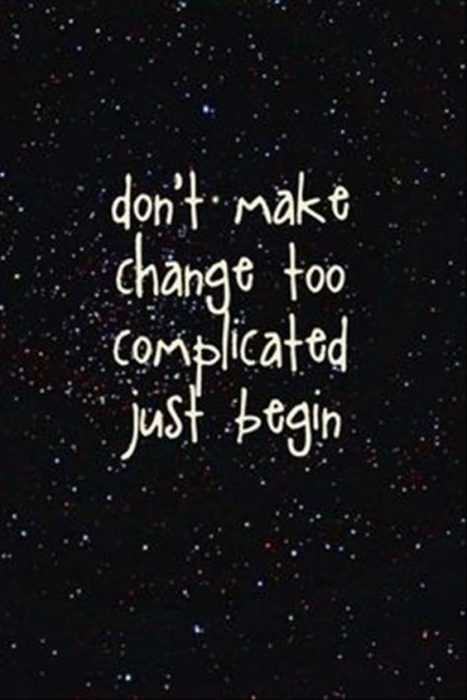 Beautiful Quotes About Life - complicated