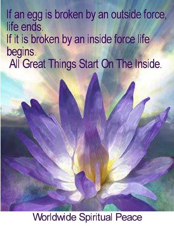 new soulful quote - broken eggs