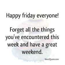 funny social share quotes - happy Friday