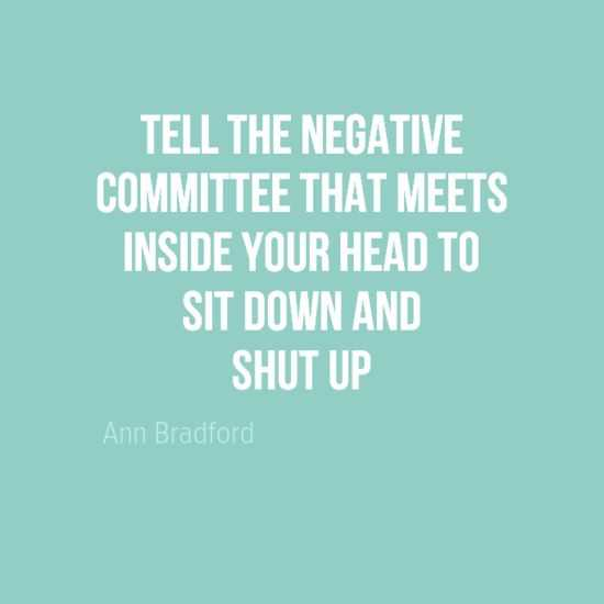Amazing Inspirational Quotes - Negative Committee