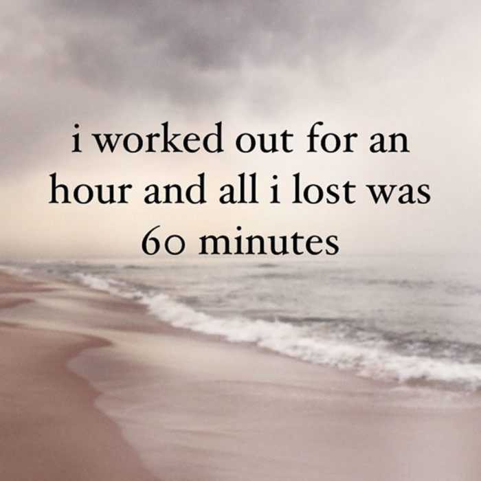 funny social share quotes - longest 60 min