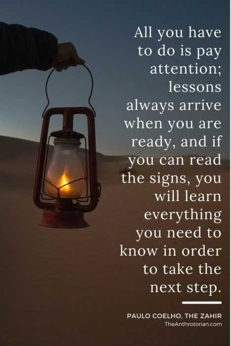 Wonderful Quotes - pay attention