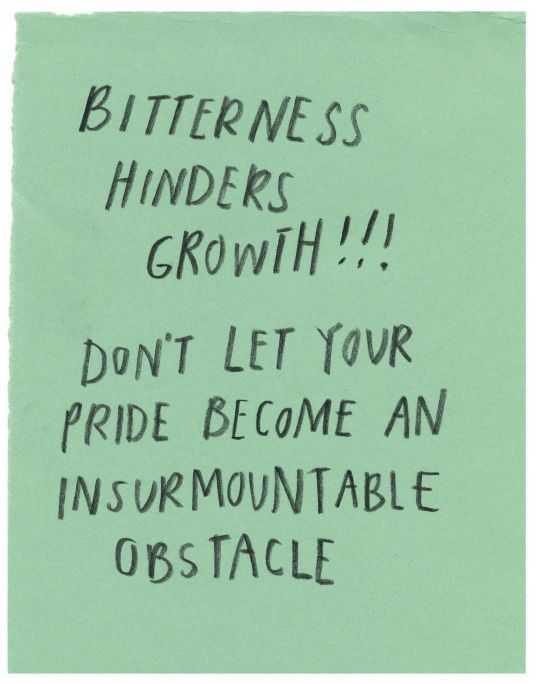 Wonderful Quotes - bitterness