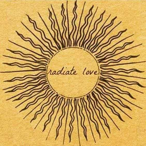 Inspiring and Motivational Quotes - radiate love