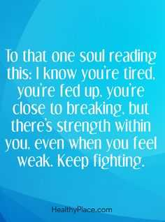 Amazing And Inspirational Quotes - Close To Breaking