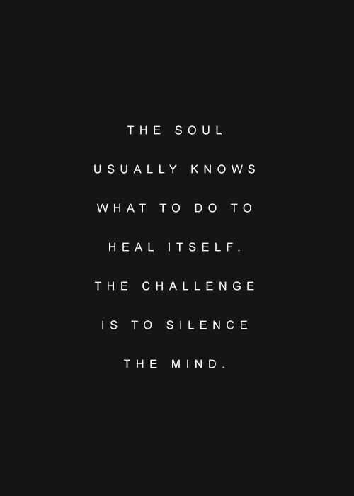 Soulful quotes - soul knows