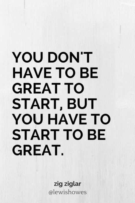 Wonderful Quotes - be great