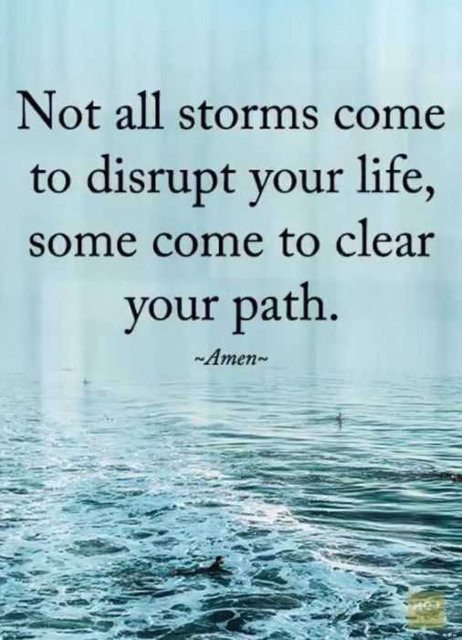 Great Quotes - Storms