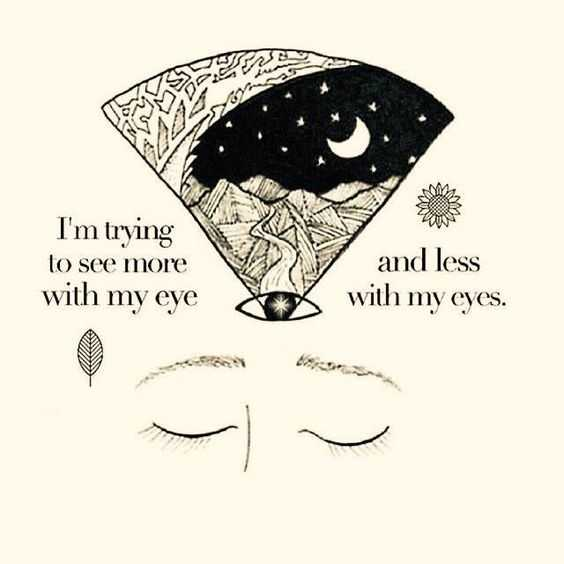Soulful quotes - seeing