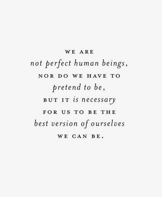 Soulful Quotes - not perfect