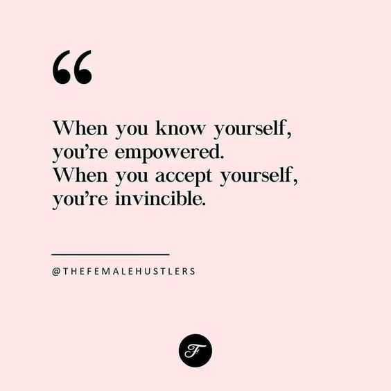 Great Quotes - Know Yourself