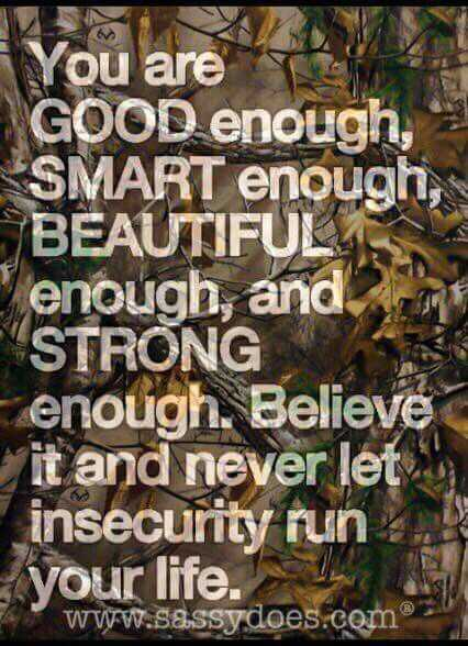 Great Quotes - Insecurity