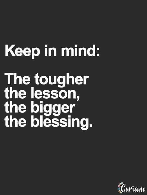 Wonderful Quotes - keep in mind