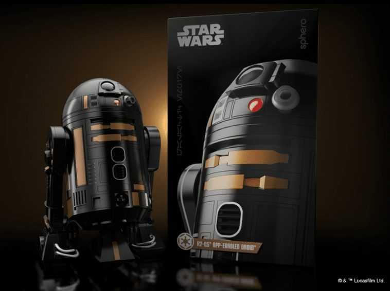 R2-Q5 Sphero App Enabled Droid