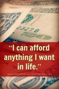 Positive Money Affirmations - Affording Life