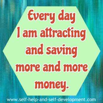 Positive Money Affirmations - Attracting And Saving