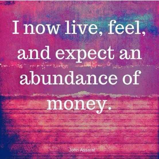 Positive Money Affirmations - Abundance Of Money