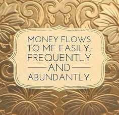 Positive Money Affirmations - Money