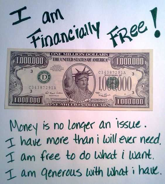 Positive Money Affirmations - Financially Free