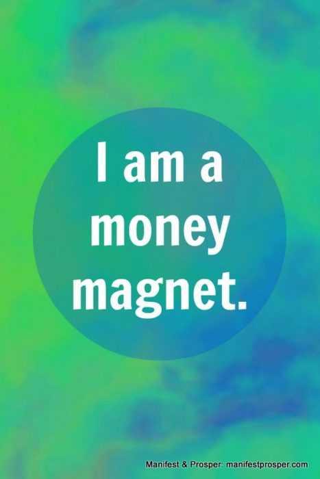 Positive Money Affirmations - Money Magnet