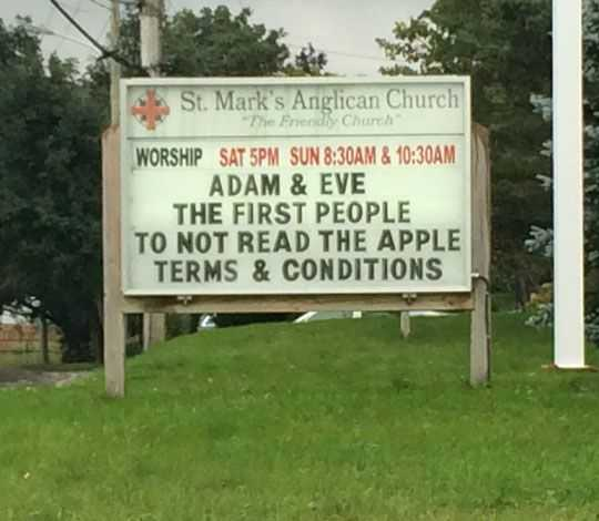 23 Hilarious Funny Church Signs