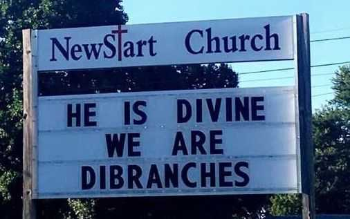 Funny Church Signs - Divine