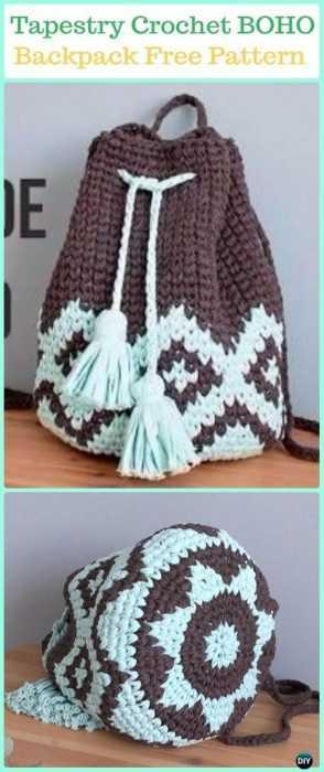 Funny Crochet Patterns - back pack