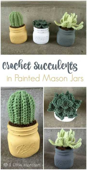 Funny Crochet Patterns - non spikey fake cacti