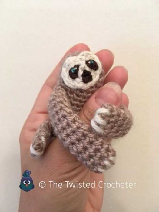 Funny Crochet FREE DIY pattern - crochet sloth because why not