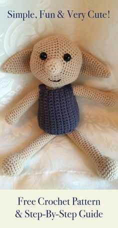 Funny Crochet - crochet bear