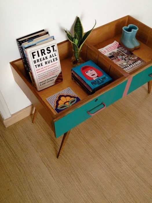 Upcycling Project - Drawer Display Shelves