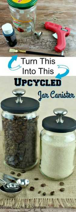 Upcycling Projects - Fancy Jars