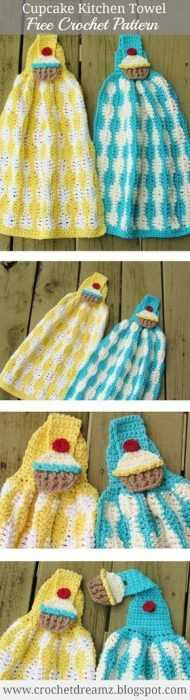 Funny and useful Crochet - kitchen towel