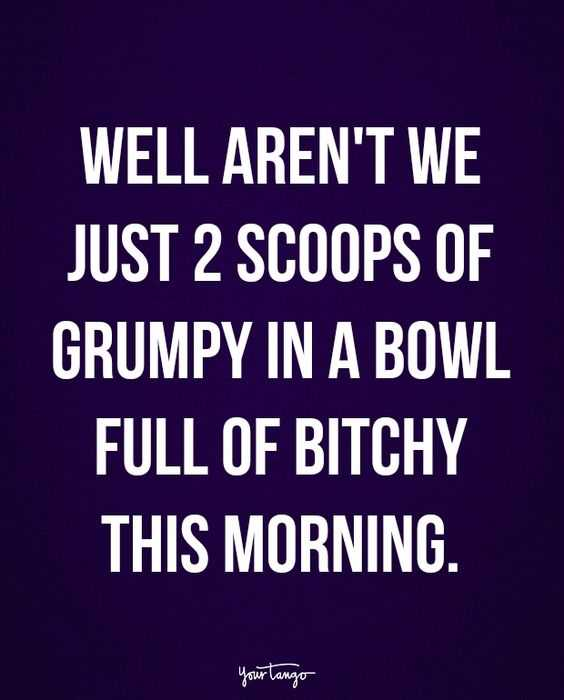 snappy quotes to adore - 2 scoopts of grumpy