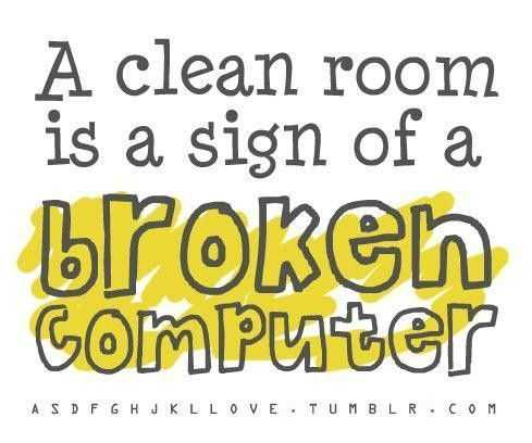 snappy quotes - clean room