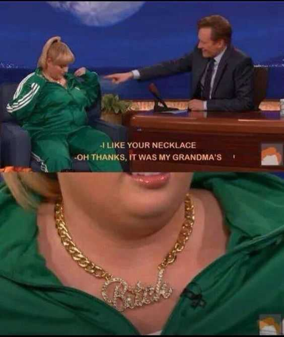 Hilarious Funny Images - Grandma's Necklace