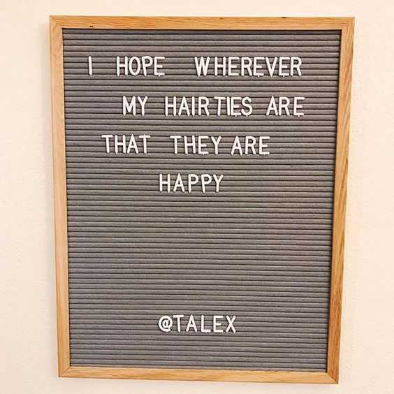 snappy quotes - hairties