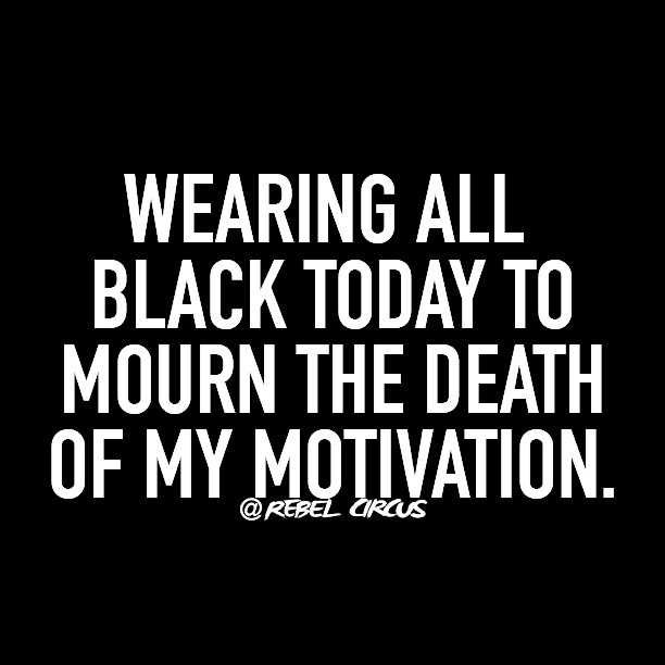 Snarky Funny Quotes - Black