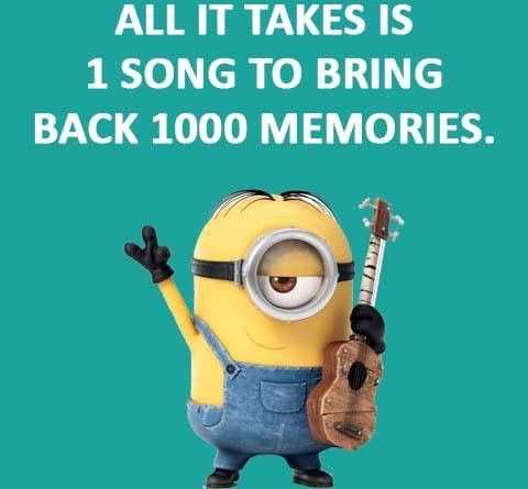 Funny Minions Pictures With Sayings - 1 Song