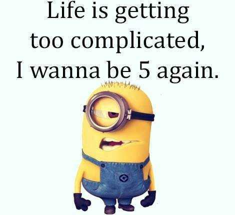 Funny Minion Images With Captions - Life