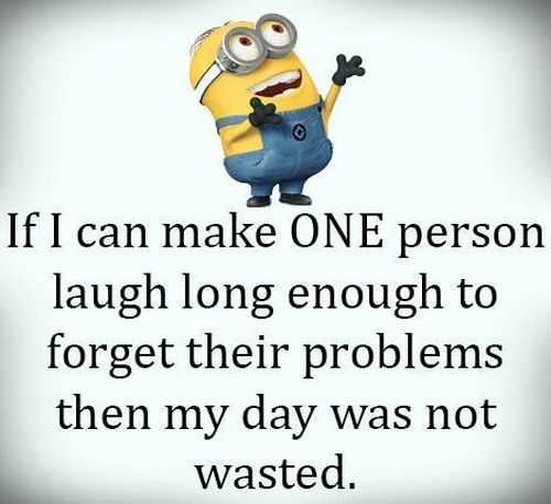 Funny Minion Images With Captions - Laughter