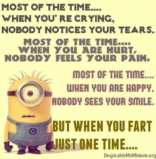 Funny Minion Pictures With Sayings - Crying