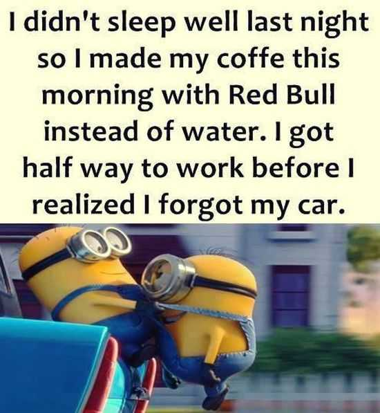 Funny Minion Images With Captions - Sleep