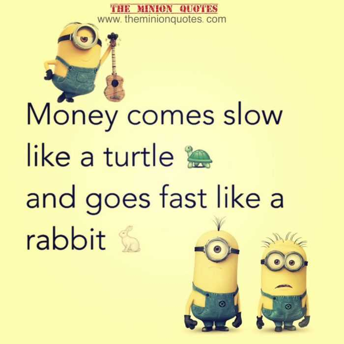 Funny Minion Images With Captions - Money