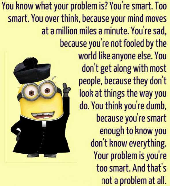 Funny Minion Images With Captions - Problems