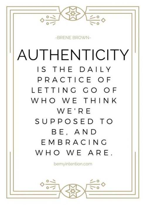 Amazing quotes for struggles in life - authenticity